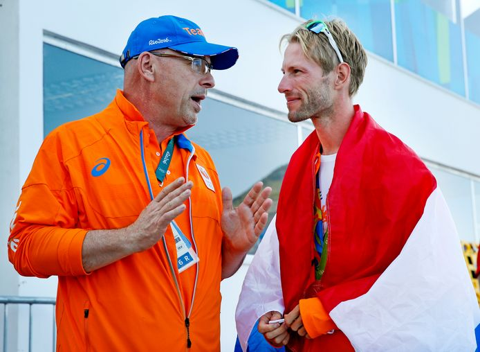 Maurits Hendriks in gesprek met Peter Wiersum, stuurman Holland Acht in Peking, Londen en Rio.