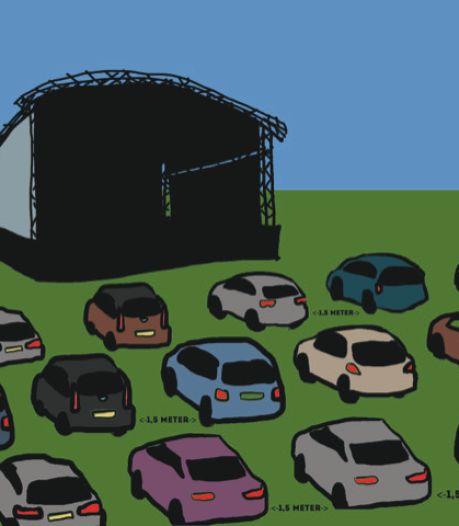 Drive-in-theater met getoeter als applaus: theatergroep Piepschuim wil festival houden