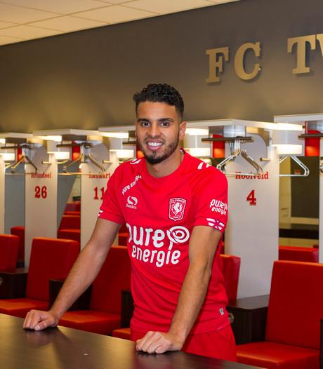 Eerste FC Twente training Adam Maher noodgedwongen binnen