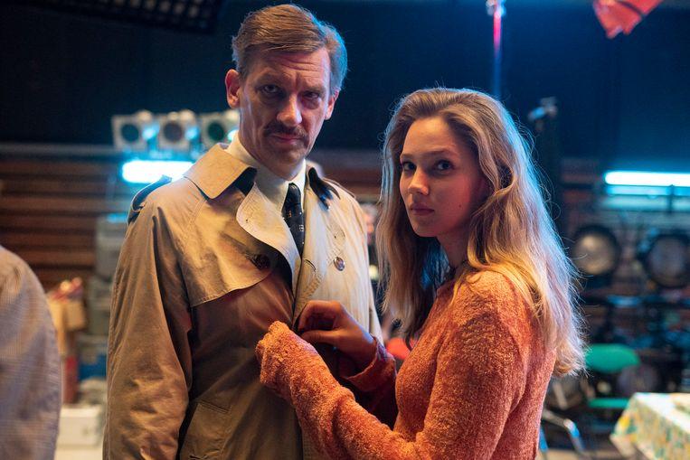 'Studio Tarara': Peter Van Den Begin (Jean Van Hoof) en Lauren Versnick (Babs Degryse).