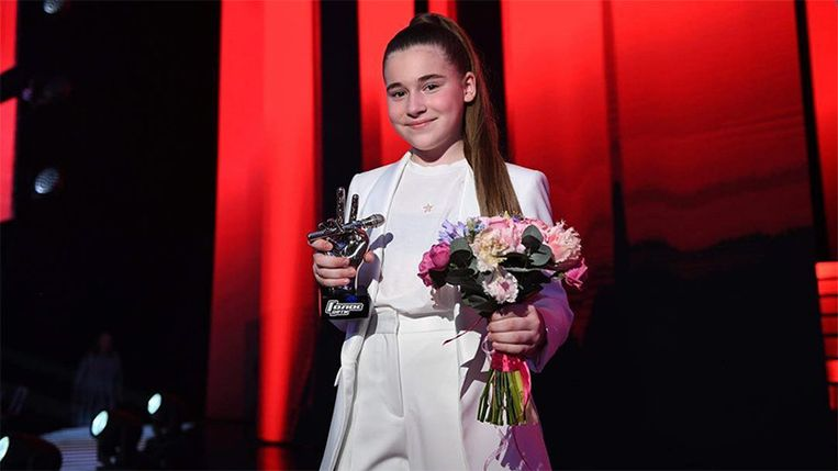 Mikella Abramova Beeld Voice Kids Russia