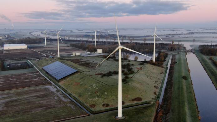 Bij het Ecopark staan al windmolens. Waar kunnen nog meer windturbines in de gemeente Waalwijk komen?