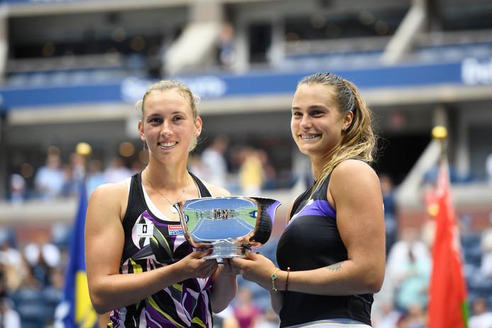 Tennis - US Open 2019 -  Elise Mertens - Belgique Sabalenka - Victoire double dames  TENNIS : US Open 2019  - USA - 08/09/2019 © PanoramiC ! only BELGIUM !