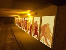 Opfrisbeurt voor tunnel Stroom Esch in Borne