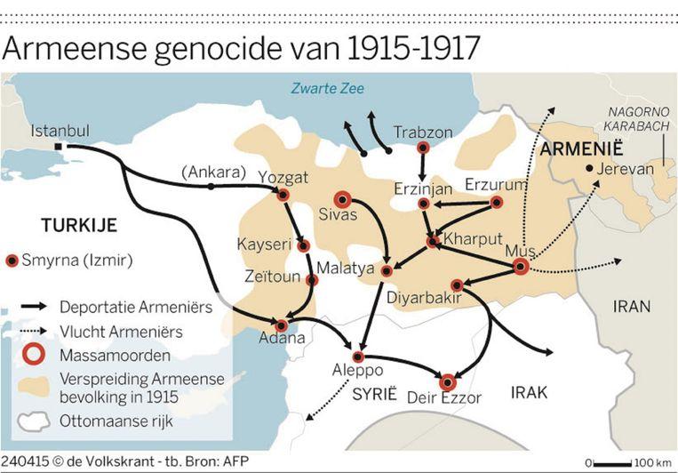 De Volkskrant. Bron: AFP. Beeld null