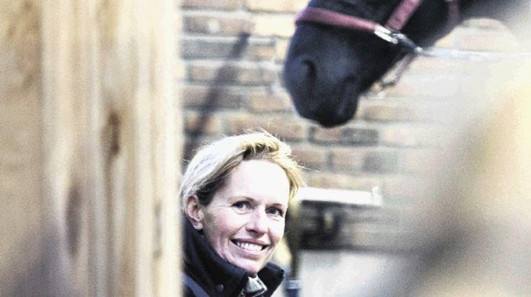 Anky van Grunsven: 'Als alles altijd goed gaat, maakt dat je minder gretig.' (Werry Crone, Trouw) Beeld