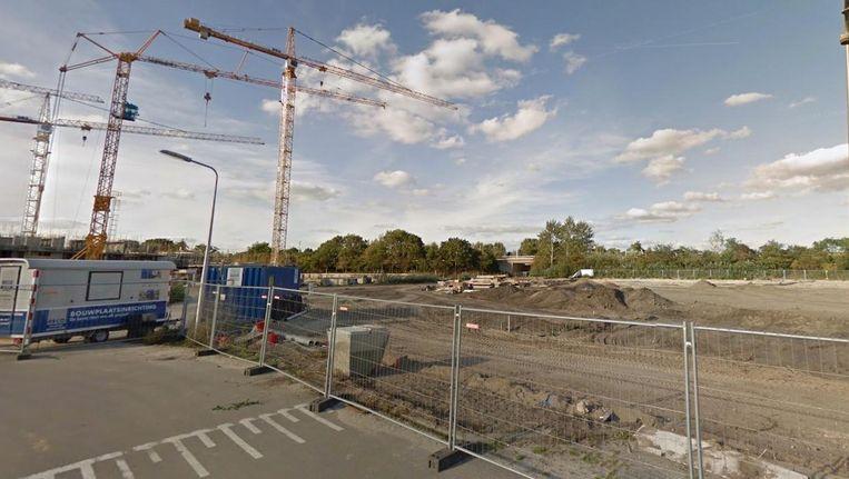 Holland Park in aanbouw Beeld Google Streetview