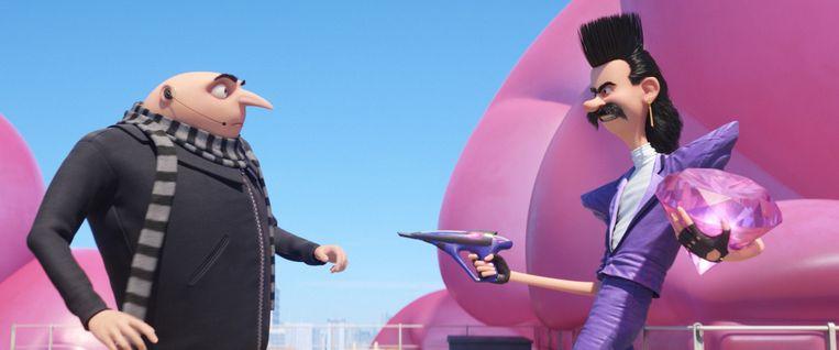 Vooral vervolgfilms doen het goed bij het publiek, zoals Despicable Me-3. Beeld Trouw Vorm010