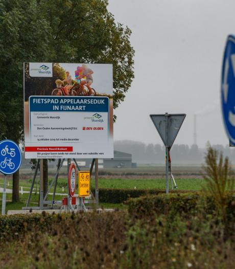 Weinig activiteiten rond fietspad Fijnaart: gaat het wel goed?