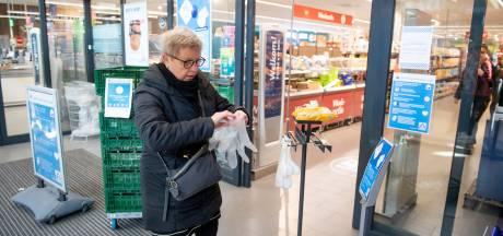 Boodschappen doen tijdens coronacrisis: zo gaat het er in deze 3 Twentse supermarkten aan toe