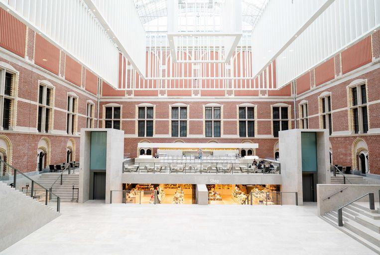 Het Rijksmuseum is ook gesloten vanwege het coronavirus. Beeld ANP