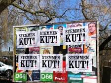 Maling aan gentleman's agreement: 'posters schaamteloos overal overheen geplakt'