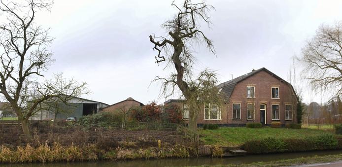 De woningen komen op de plaats van de oude boerderij in Langbroek.