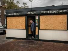 De Fer kan zijn geluk niet op: nostalgisch frietkot aan de Haagweg keert tóch terug