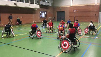 Jongeren maken kennis met G-sporten