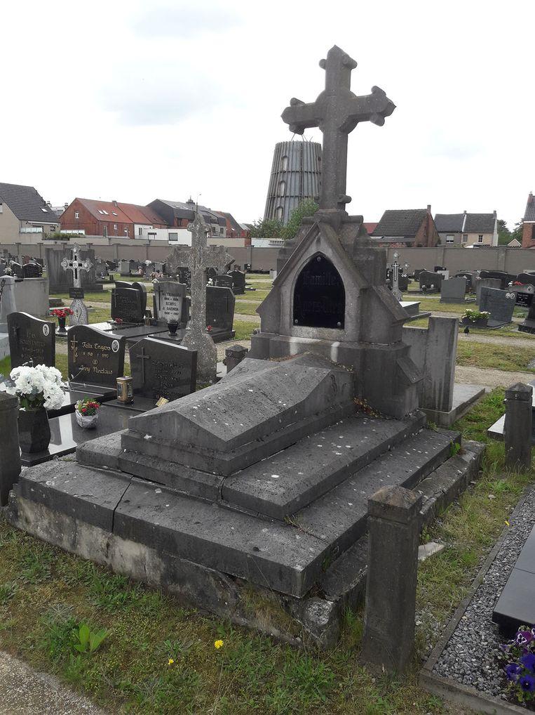 Het graf.