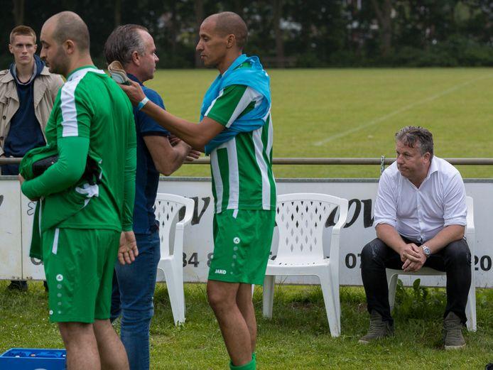Marc van Delft in dienst bij zijn vorige club TGG.