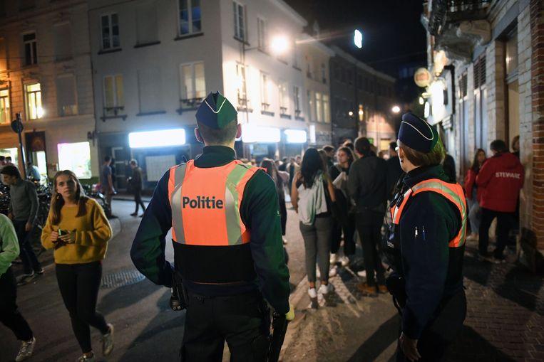 De studentenflik van Leuven gaat meer dan geregeld op stap om goede afspraken te maken met de Leuvense studenten.