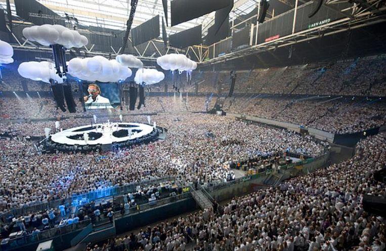 Concert van de Toppers bij de Amsterdam Arena in mei 2010. Beeld Rob Verhorst