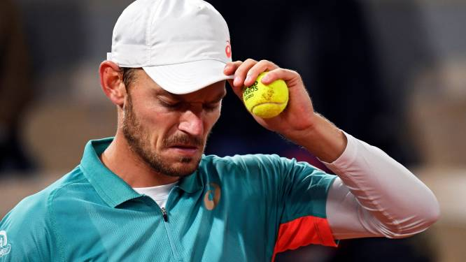 David Goffin zakt na Roland Garros naar 14de plaats op ATP-ranking