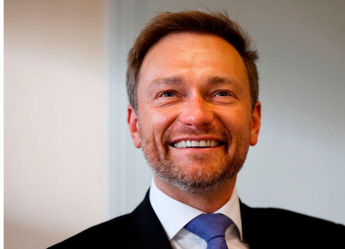 Christian Lindner, de voorman van de liberale FDP, is uit de regeringsonderhandelingen gestapt.