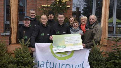 Organisatoren Natuurloop steunen Natuurpunt De Bron