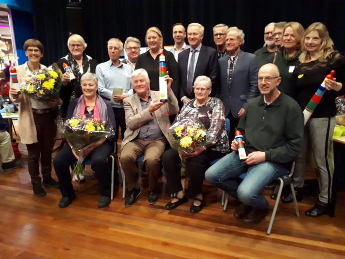 Alle genomineerden in de Nieuwe Veste.