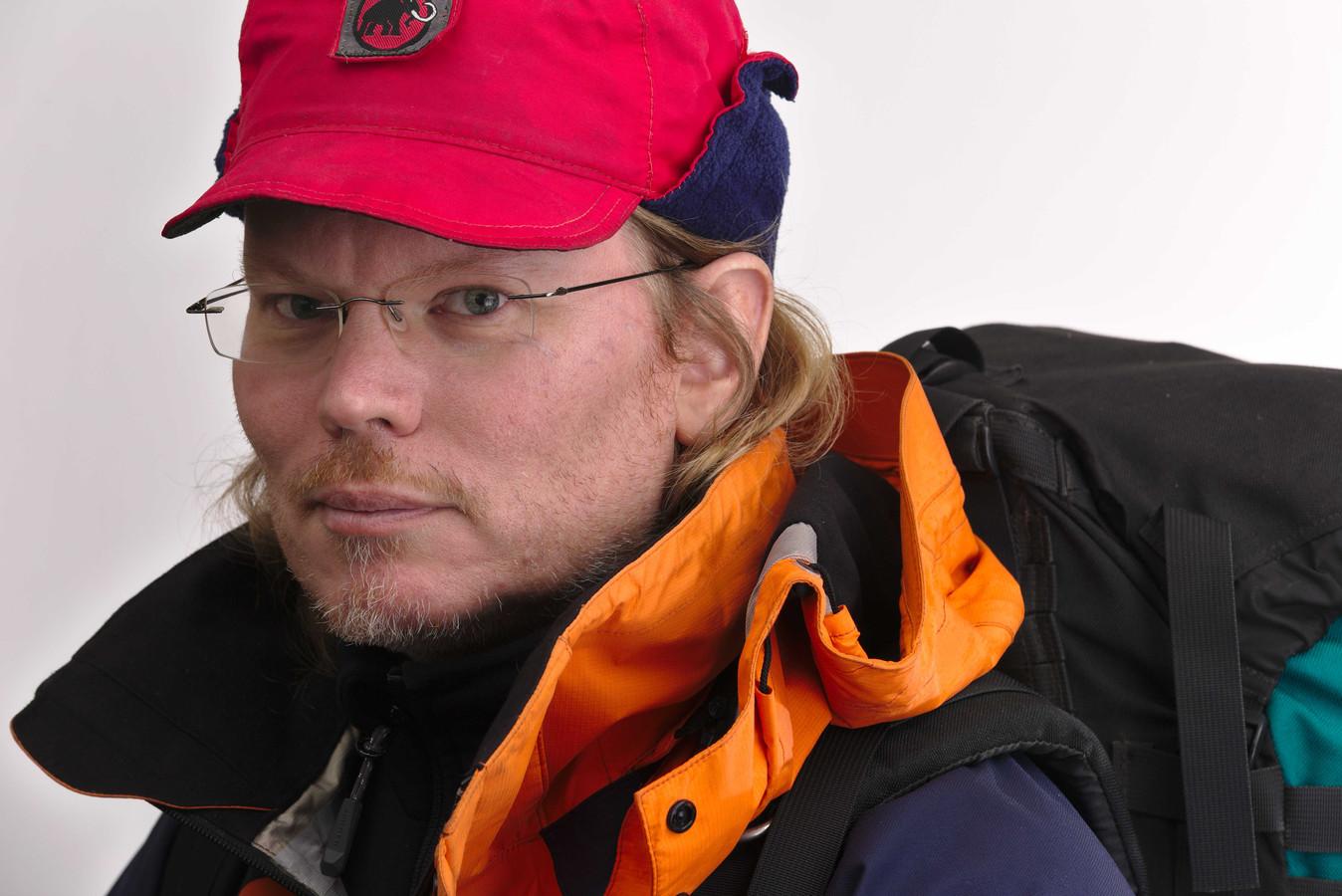 Archieffoto van de 47-jarige Arjen Kamphuis die sinds 20 augustus wordt vermist in Noorwegen. Hij werd voor het laatst gezien in een hotel in Bodø.