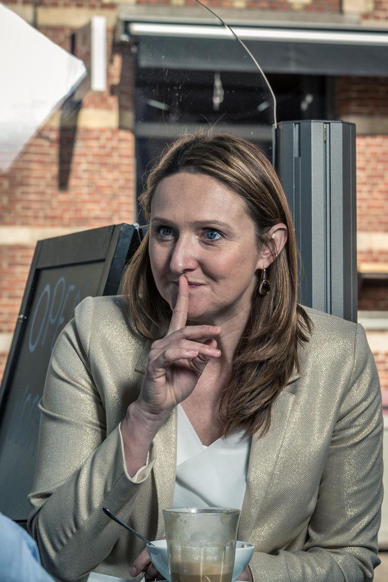 Schepen Gwendolyn Rutten (Open vld).