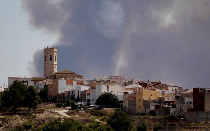 Het stadje Teulada, vlakbij Alicante, waar het lichaam van de vrouw werd gevonden.