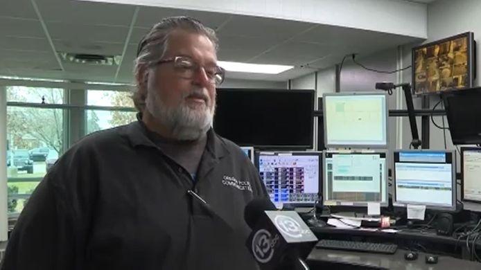 Tim Teneyck, l'employé qui a reçu l'appel .