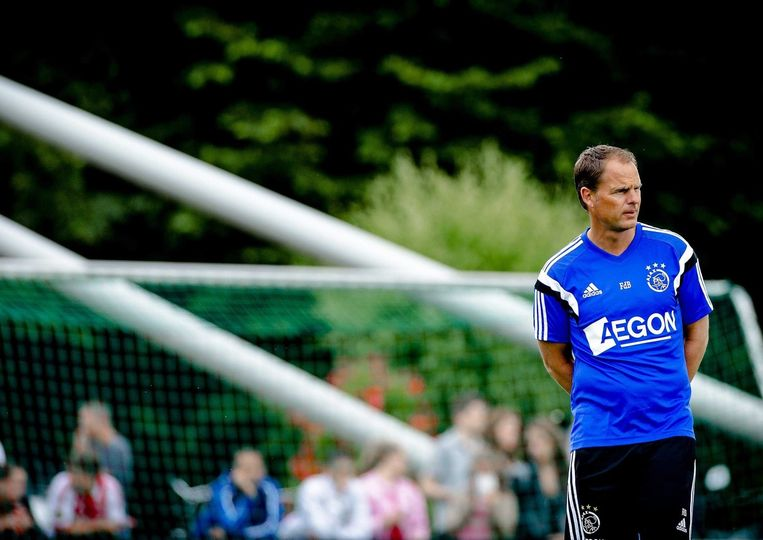 Ajax-trainer Frank de Boer. Beeld epa
