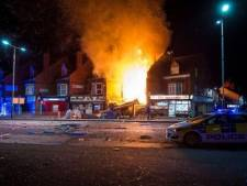 Grote explosie in Britse stad verwoest gebouw