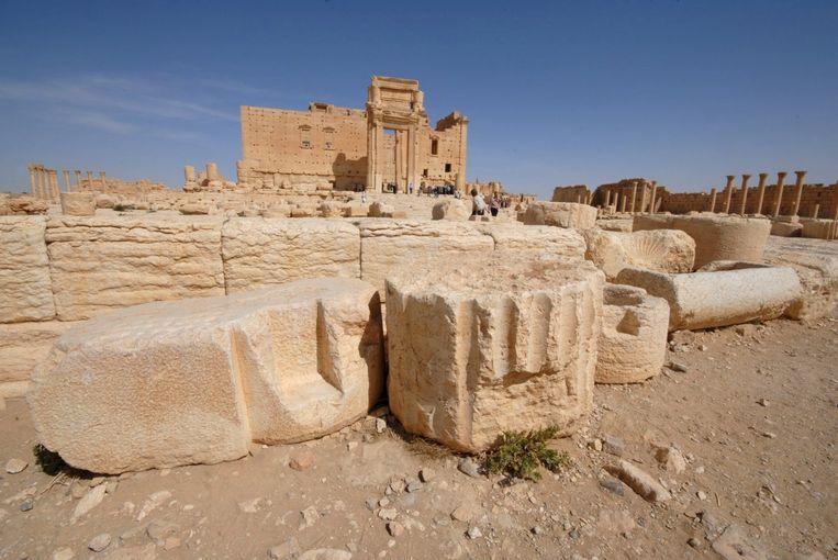 De tempel van Bel. Beeld reuters