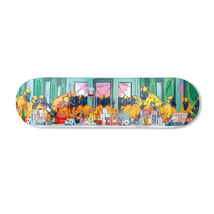 Het Musketon-skateboard