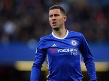 Hazard terug op trainingsveld bij Chelsea
