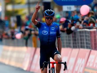 O'Connor rekent af met De Gendt en pakt nu wél zege in Giro, roze trui Almeida overleeft alweer bergrit