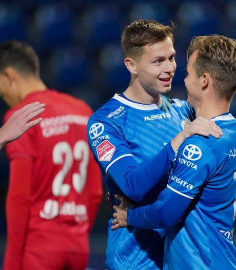 FC Den Bosch knokt zich naar een punt tegen Almere City