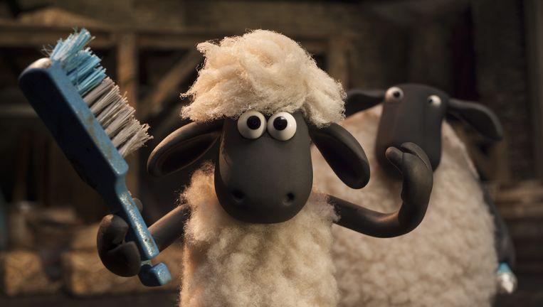 scène uit Shaun het schaap: de film Beeld null