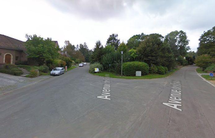 L'accident s'est produit au carrefour formé par l'avenue des Evaux et l'avenue des Fauvettes, à Céroux-Mousty.
