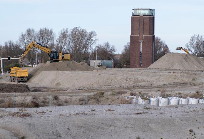 In Vlissingen is de grond al bouwrijp gemaakt voor een nieuwe marinierskazerne.