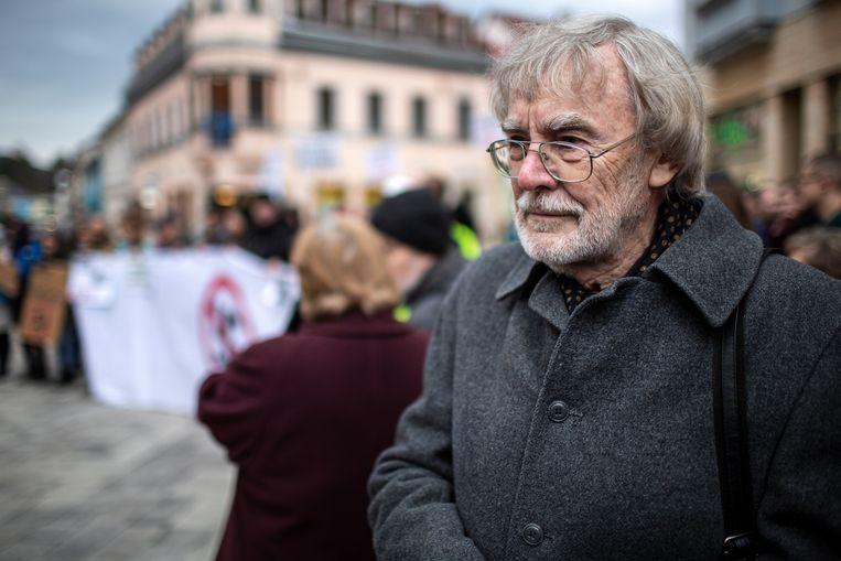 Anti-extremist Jan Bencik. Beeld Julius Schrank / De Volkskrant