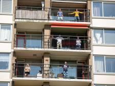 'Balkon in Beweging' rolt zich als vanzelf over heel Schiedam uit