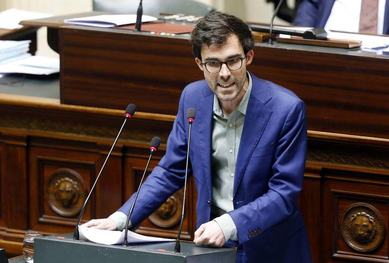 Groen-Kamerfractieleider Kristof Calvo.