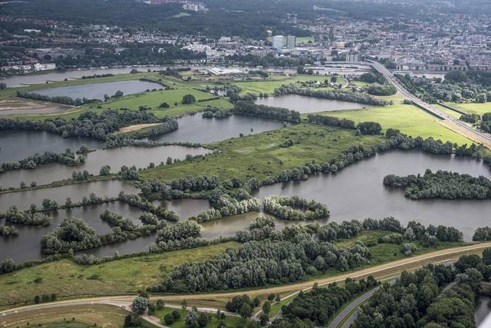 Uiterwaardengebied Meinerswijk in Arnhem.