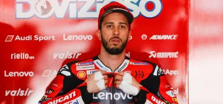 Italiaanse motorcoureur Dovizioso breekt sleutelbeen bij crash