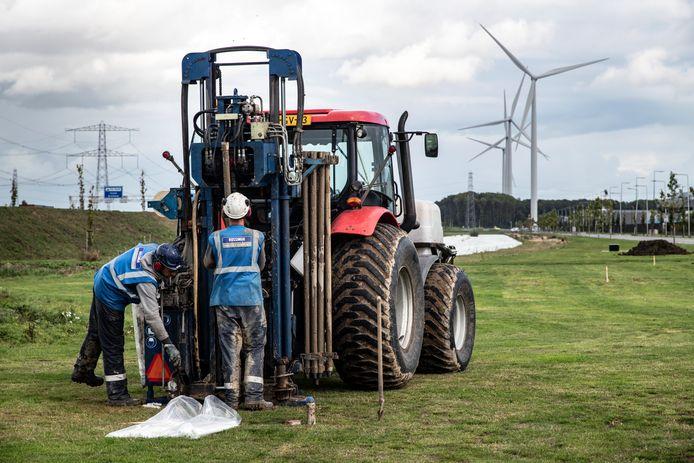 Onderzoek naar aardwarmte langs de A15 bij Oosterhout.