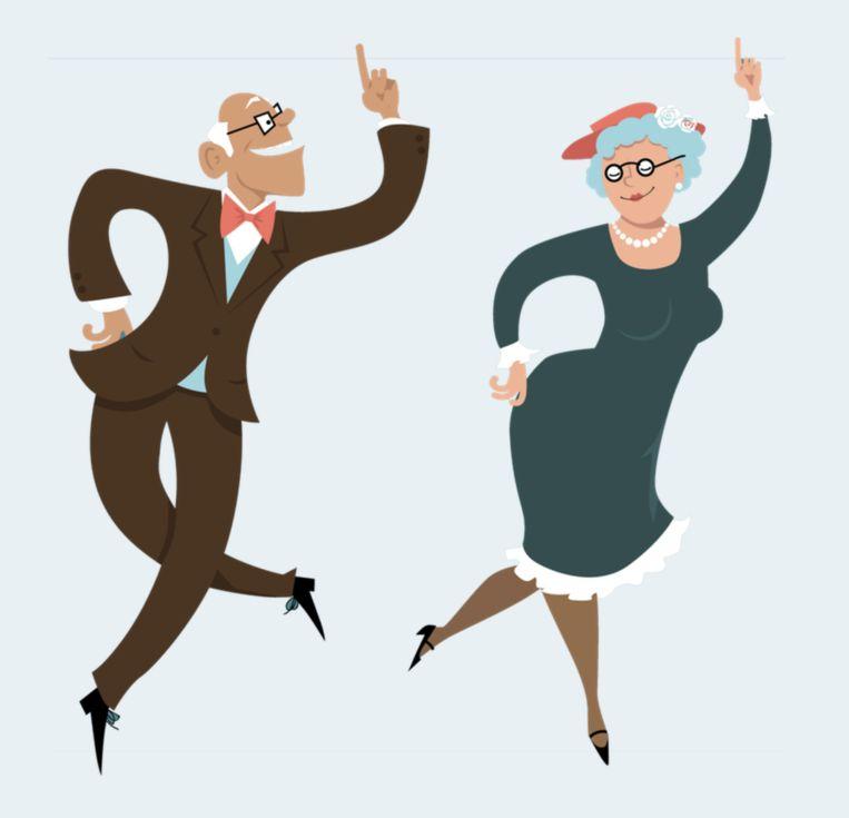 Grootouders En Kleinkinderen Dansen Woensdag Samen In Den Oever