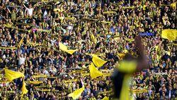 Vitesse-fans mijden De Kuip uit protest tijdens Johan Cruijff Schaal