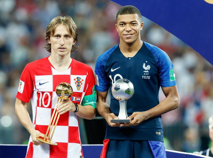 Luka Modric werd verkozen tot beste speler van het WK in Rusland. De aanvoerder van Kroatië verloor in de finale met 4-2 van Frankrijk.